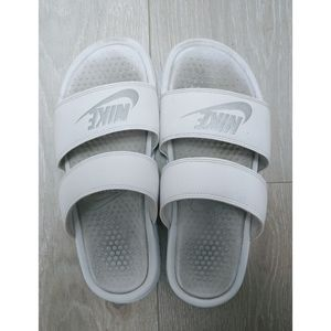 Nike Two Strap Slide Sandals Size 9